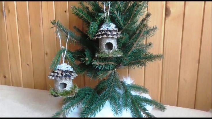 Jana Melas Pullmannová: Vtáčia búdka  na vianočný stromček