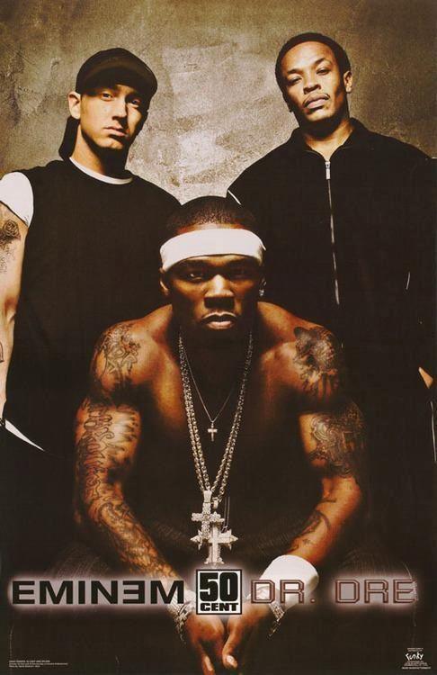 Eminem, 50 cent & Dr Dre