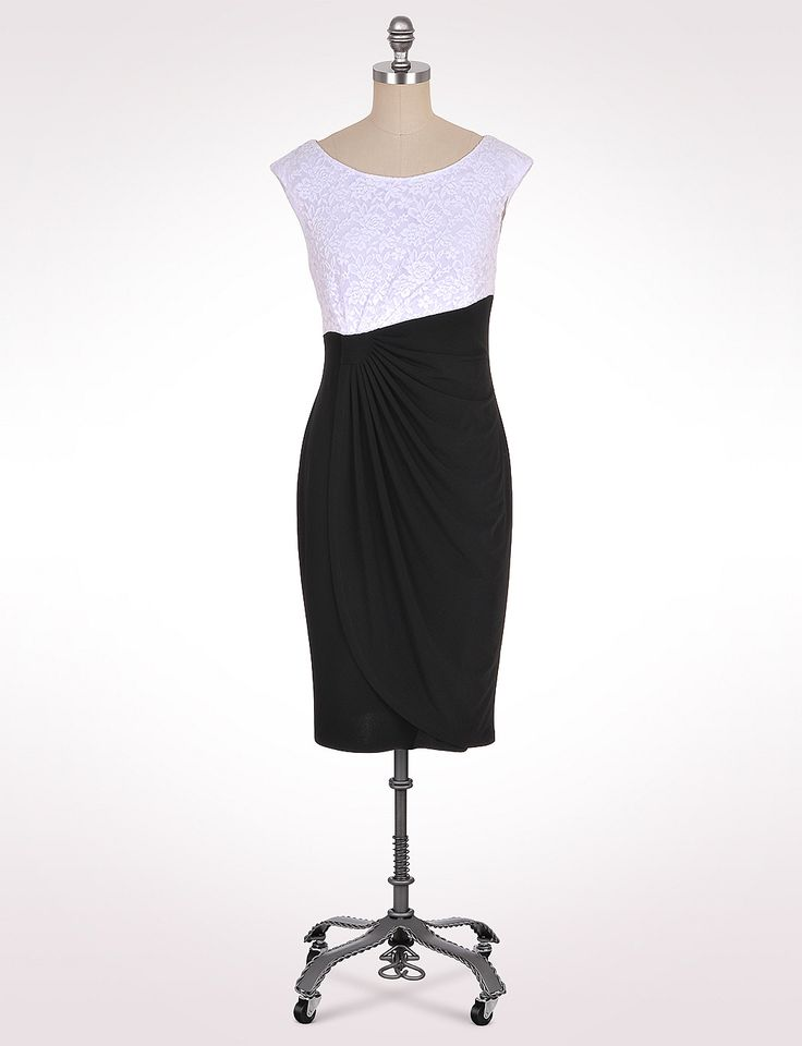 Black and white dress from dress barn