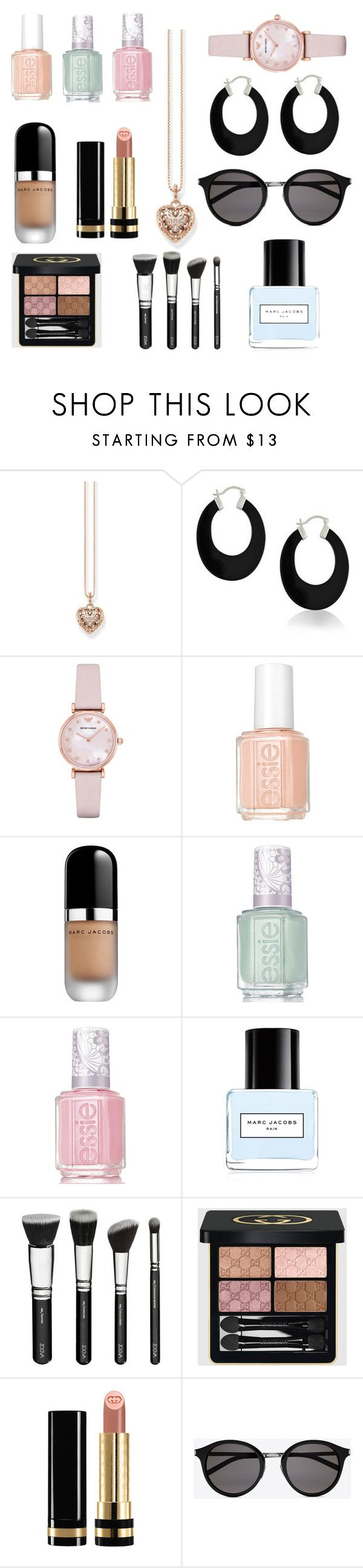 """""""Sunday style accessories"""" by jasmine-clarine on Polyvore featuring beauty, Thomas Sabo, Bling Jewelry, Emporio Armani, Essie, Marc Jacobs, Gucci, Yves Saint Laurent, nailpolish and accessories"""