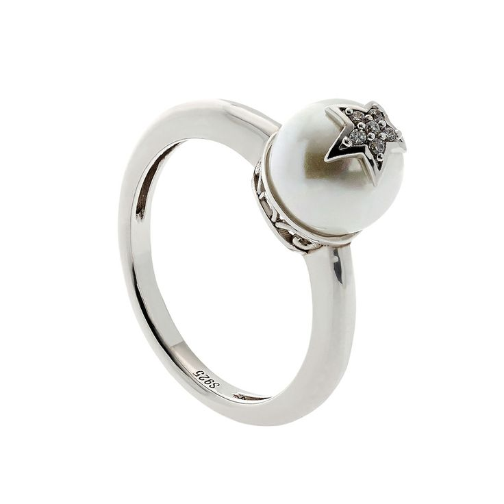 Oxette Sterling Silver 925 Ring with zircons -Available here www.oxette.gr/... #oxette #silver #ring #jewellery