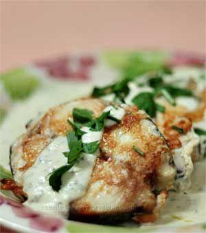 Fried Spanish Mackerel with Cheese Sauce recipe