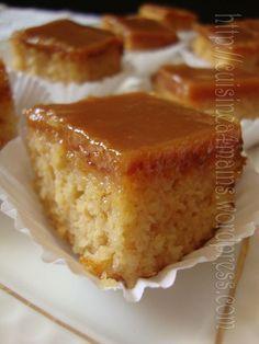 """toffee cake 1 pour Hélène qui cherche les """" cornes de gazelle"""" !!!"""