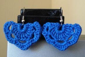 Lacy Crochet Earrings - free pattern