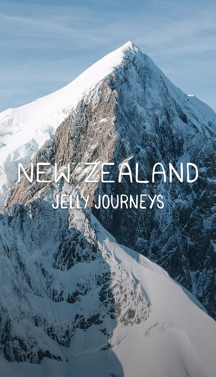 We've always said how much we've wanted to explore the South Island of New Zealand. Imagine our excitement levels when we were finally making our way there… and then when we took a Helicopter flight over the Southern Alps!