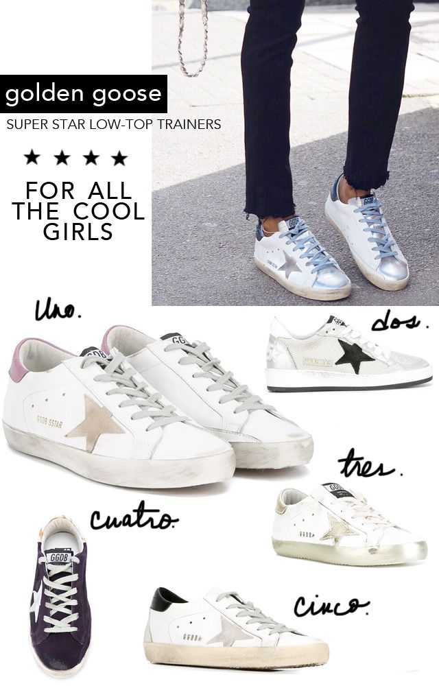 Fashion: Golden Goose Sneaker Trend - Made By Girl