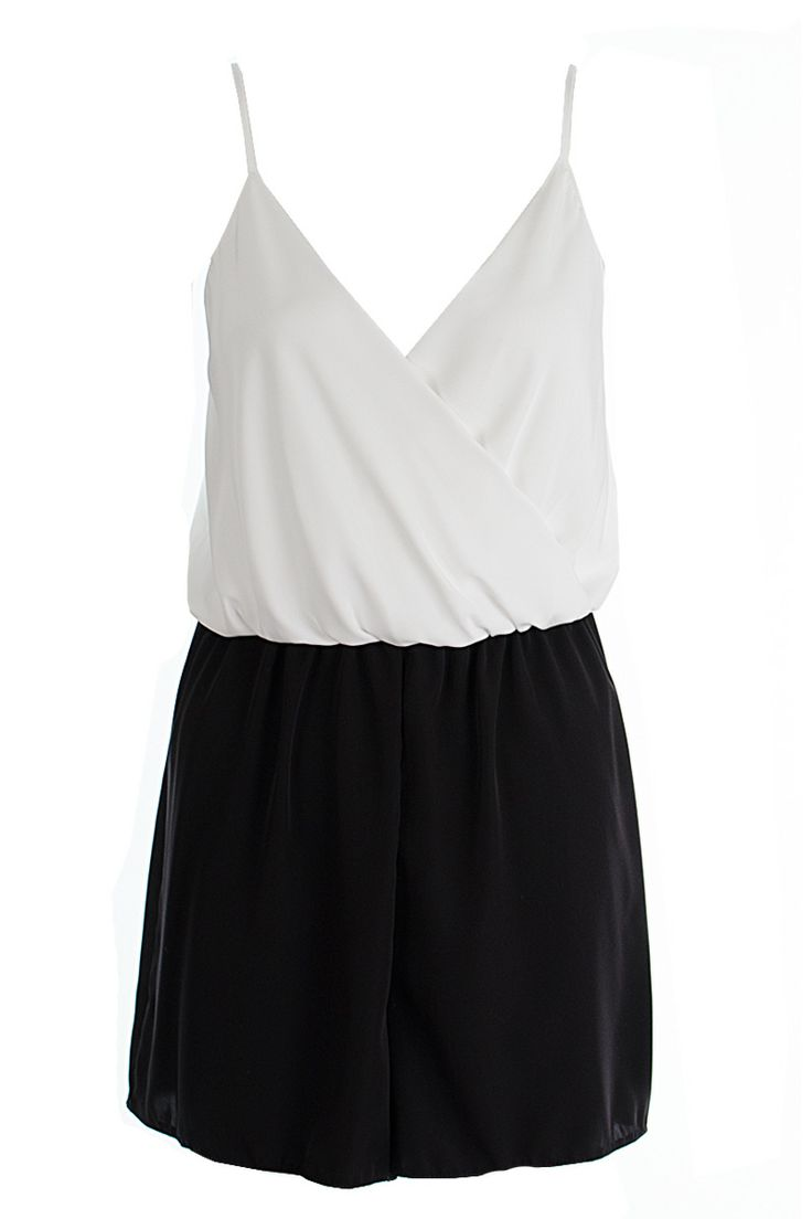 John Zack Black And White Playsuit http://www.fuchia.co.uk/products/clothing/jumpsuits-and-playsuits/jonh-jack-black-and-white-playsuit.aspx