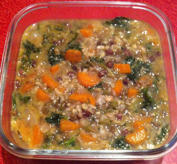 wild rose cleanse vegetable barley soup