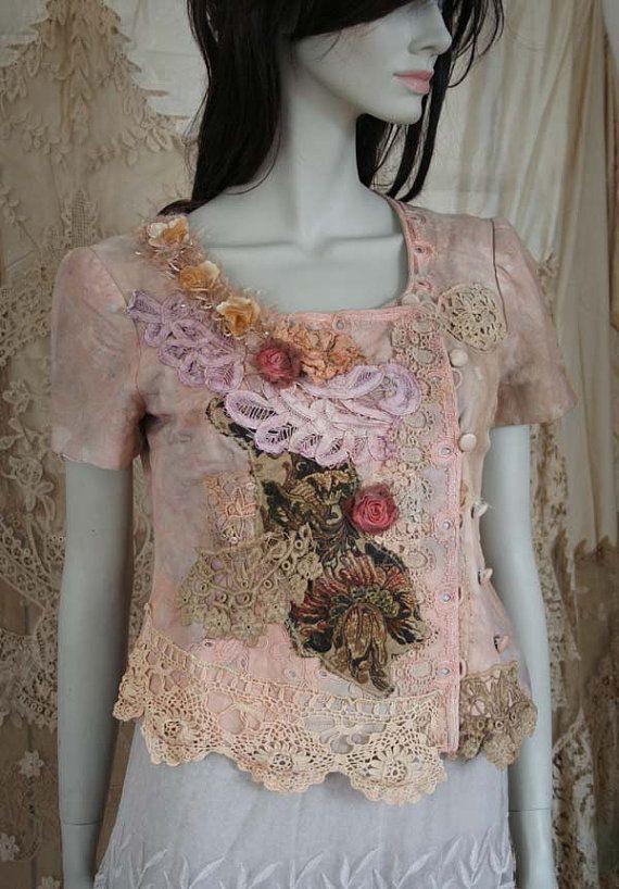 little promenade jacket no2  extravagant  reworked von FleursBoheme