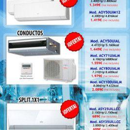 Con estos precios, seguro que sucumbes a nuestras ofertas en aire acondicionado