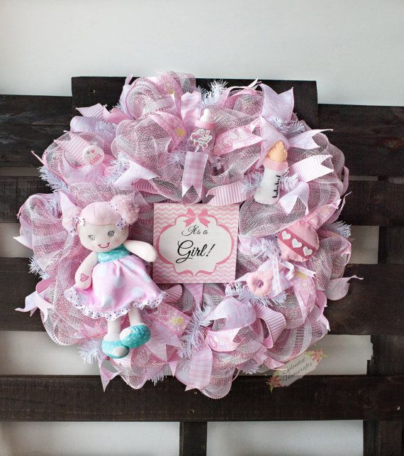 Baby Shower Wreath Instructions: Best 25+ Baby Wreaths Ideas On Pinterest