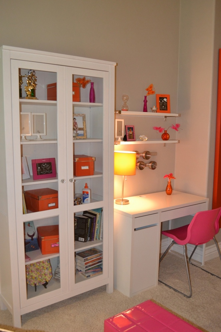 Study area for child's room.