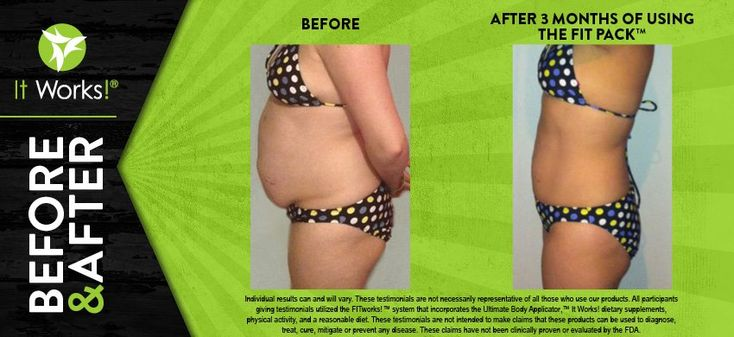 Go from flab to fit with the Fit Pack, including our Advanced Formula Fat Fighter, Utlimate ProFIT, Greens, Defining Gel, and the It Works! Wrap!  Visit my website at http://sullyduzwraps.myitworks.com/