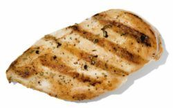 Chicken Breast Directions Qty : 1-2 Chicken Breasts Cooking Time : 13 Mins Temperature : 200 ° C or 390 ° F Instructions * Cook from Defrosted * No Oil Necessary Notes Submitted by Russell, Thanks Russell