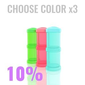 15.93€ Multipack with 3x Powder boxes in color of your choice.