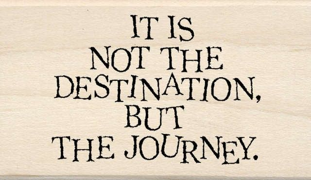 'nuff said!: The Journey, Journey Inkadinkado, Destinations, Describ Life, Plain Inspiration, Quotes Sayings, Life Journey, Rubber Stamps, 999