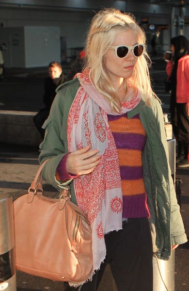El estilo 'chic' de Sienna Miller nunca falla