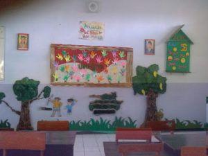 Gambar Hiasan Dinding di Kelas TK Yang Lucu Untuk Anak Anak