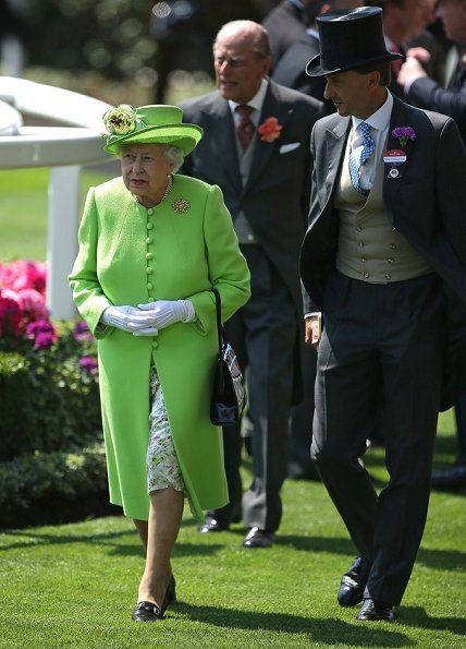 The British Royal family attend the Royal Ascot 2017