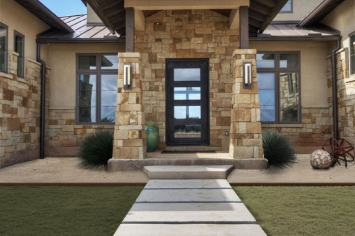 280 best house plans images on pinterest screened for Hill country contemporary house plans