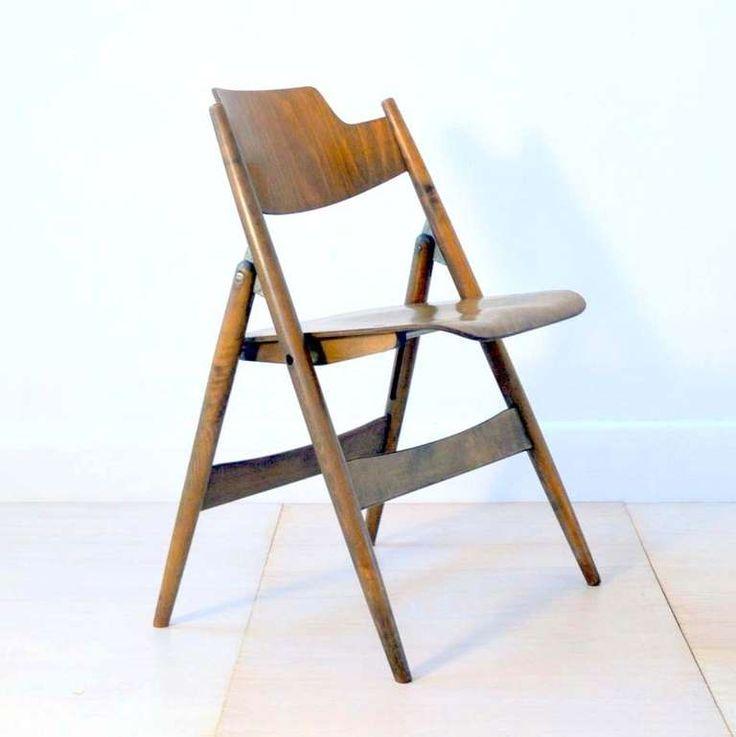 Egon Eiermann Ply Wood Folding Chairs image 5