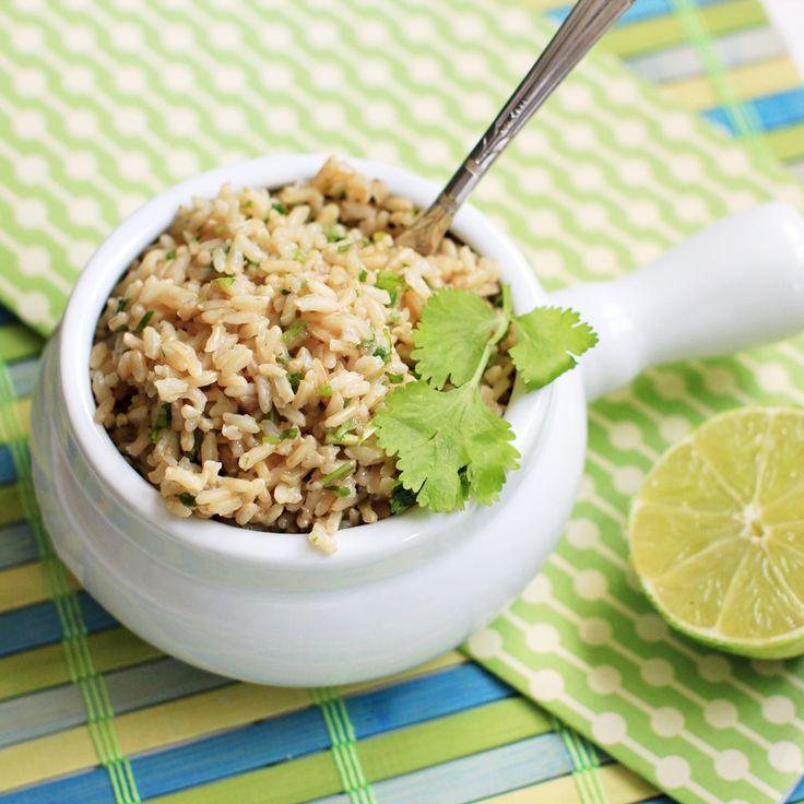 Cilantro-Lime Brown Rice