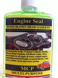 Steel Seal Head Gasket MCP Repairs Blown Head Gasket Cracked Engine Blocks 500ml | eBay
