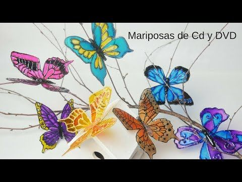 Tutorial DIY - Cómo pintar mandalas en CD - YouTube