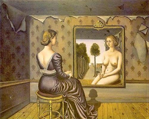 Mirror - Paul Delvaux