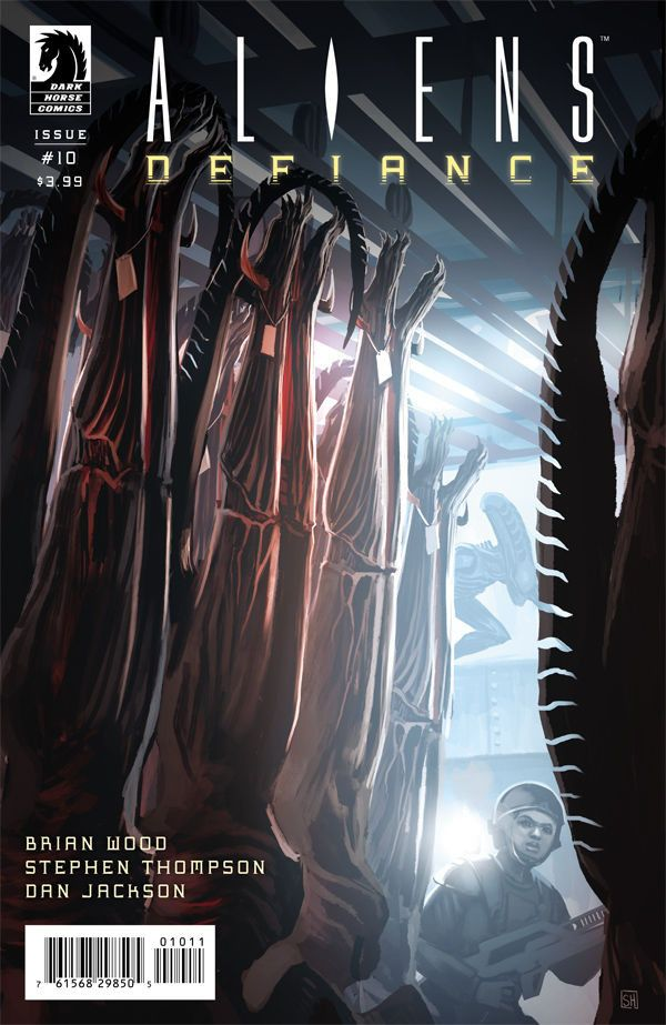 Aliens Defiance (2016) Issue #10