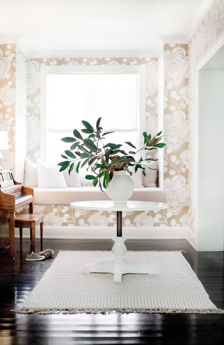 #Foyers, Anthropologie Wallpaper In Entry By Pencil U0026 Paper Creative  Development ...