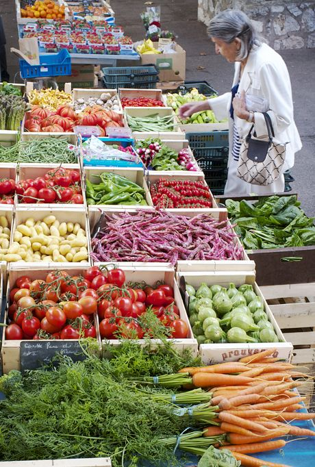 Sigh... French markets  ~  Villefranche sur Mer, Beaulieu sur Mer and St Jean Cap Ferrat