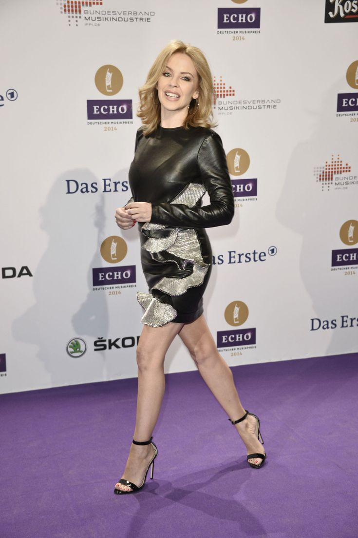 Kylie Minogue attends Echo 2014 music awards