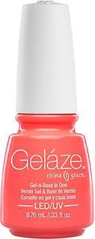 China Glaze Gelaze Neons Flip Flop Fantasy