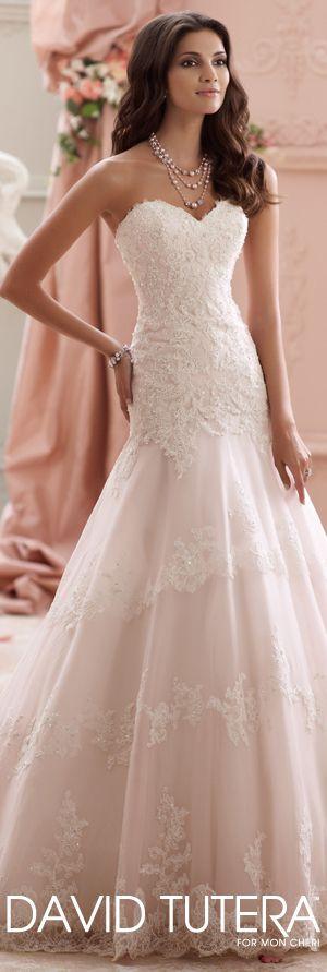 The David Tutera for Mon Cheri Spring 2015 Wedding Dress Collection - Style No. 115249 Adalynn   davidtuteraformoncheri.com  #weddingdresses