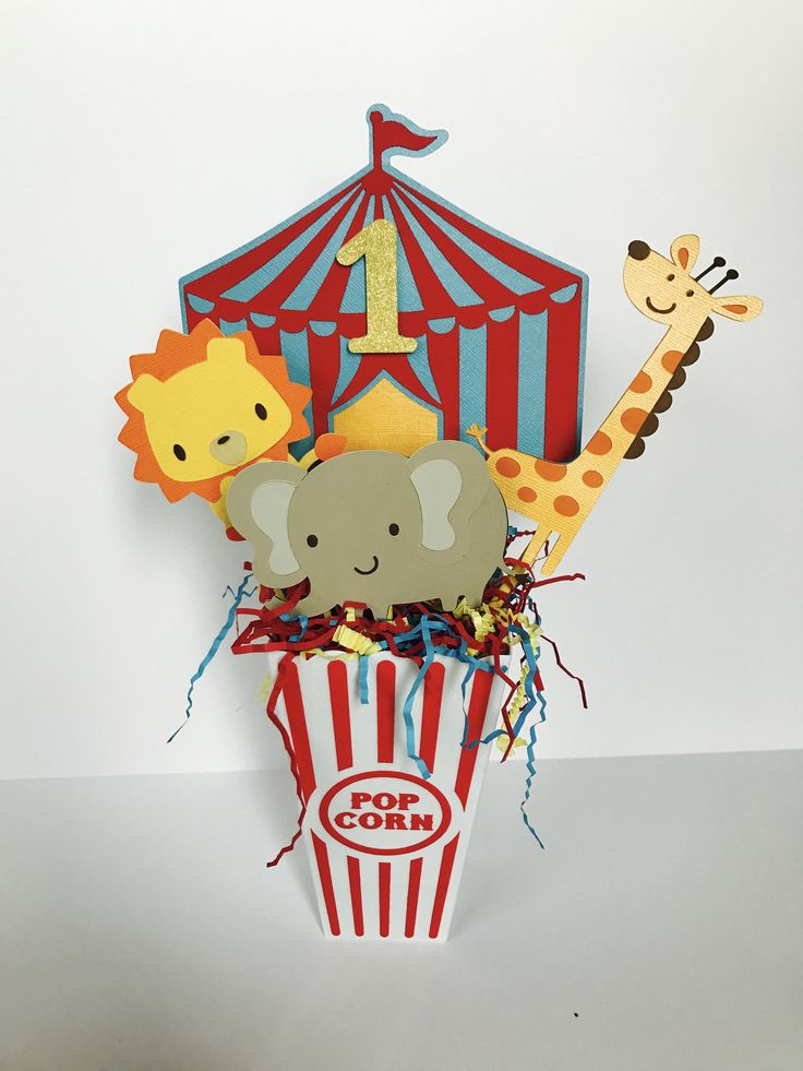 Circus Party Centerpiece, Carnival Birthday Centerpiece, Circus Birthday, 1st Birthday by LittleBannerShop on Etsy https://www.etsy.com/listing/527648983/circus-party-centerpiece-carnival