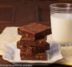 Chewy Cocoa Brownies