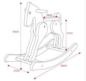 Balancim Brinquedo-De madeira do cavalo do cavalo de balanço da fonte da fábrica –Balancim Brinquedo-De madeira do cavalo do cavalo de balanço da fonte da fábrica fornecido por Hangzhou Huanyu Enterprise Co., Ltd. para Lusofonia