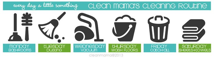Clean Mama's Cleaning Routine - Clean Mama