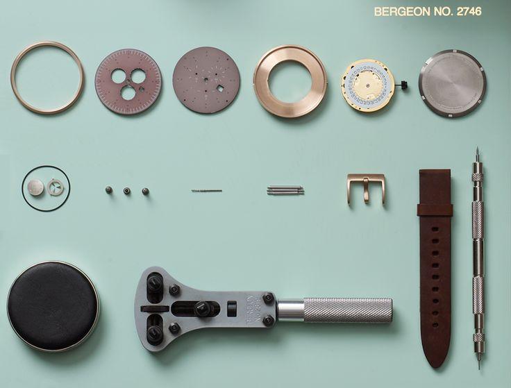 Uniform Wares PSD Watch Parts