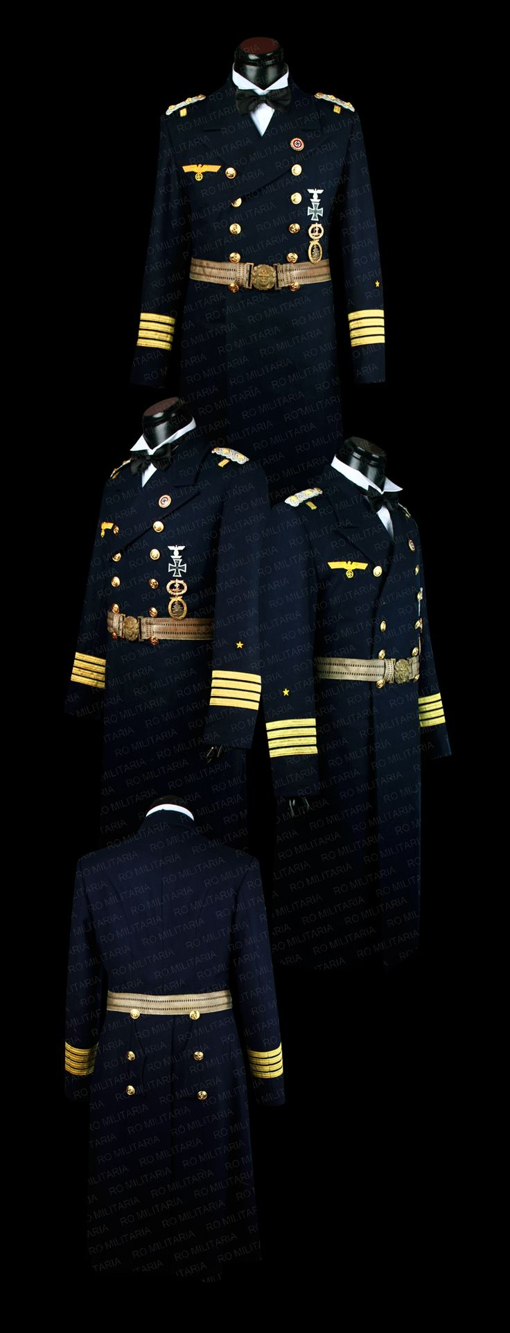 Navy officer's formal coat www.romilitaria.com