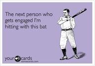 It does seem like everyone is getting married! Lol