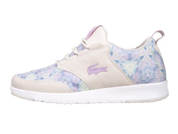 Lacoste LIGHT Baskets basses light purple/offwhite prix promo Baskets Lacoste femme Zalando 90.00 €