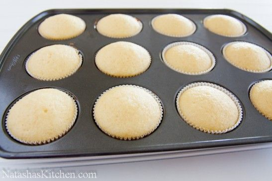 Perfect vanilla cupcake recipe