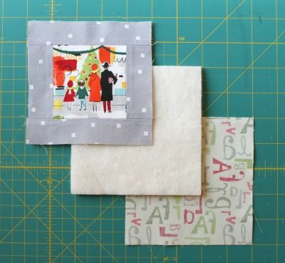 Gwenny Penny: HOTH Day 1: Fussy Cut Quilted Coasters with Gwenny Penny