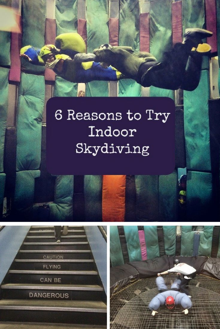 6 Reasons to Try Indoor Skydiving Location - Pigeon Forge, TN