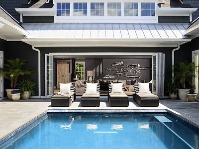 Rehoboth Beach House Rental: Luxurious New Construction 7bed/7bath,chefs Kitch,pool,dry Heat Sauna, Fireplace | HomeAway Luxury Rentals