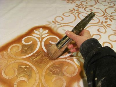 great site about stenciling