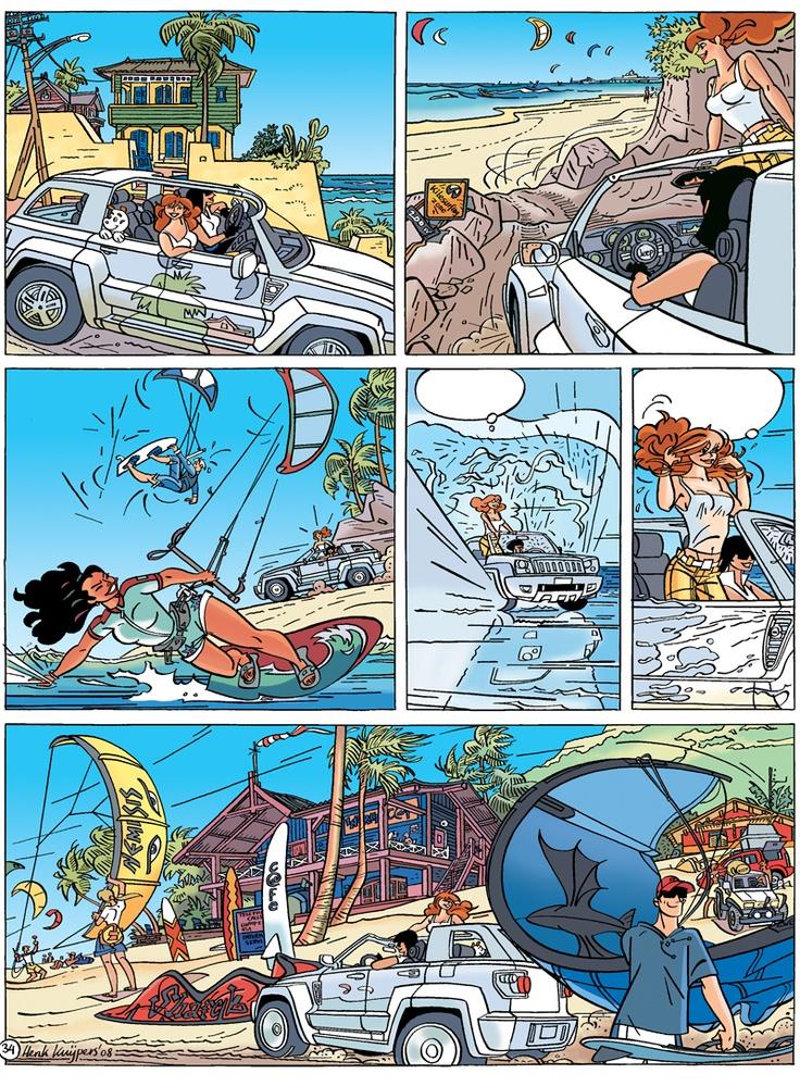 Franka, stripboeken.