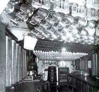 The Original Titanic-------Interior of Titanic Kitchen Photo